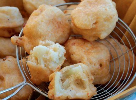 Frittelle di cavolfiore con pastella lievitata | Cavolo fritto
