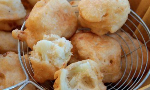 Frittelle di cavolfiore con pastella lievitata   Cavolo fritto