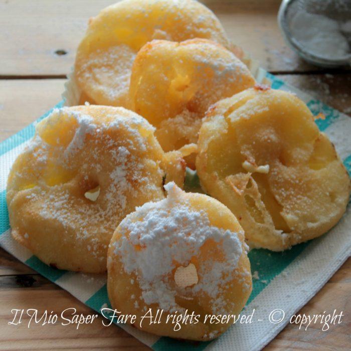 Frittelle di mele ricetta con pastella senza lievito facile e veloce il mio saper fare