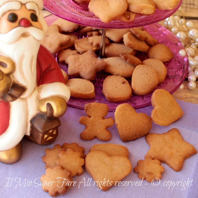 Biscotti di Natale al caramello golosissimi ricetta il mio saper fare