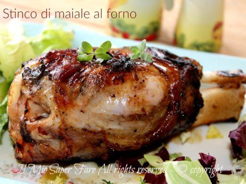 Stinco di maiale al forno ricetta facile e succulenta