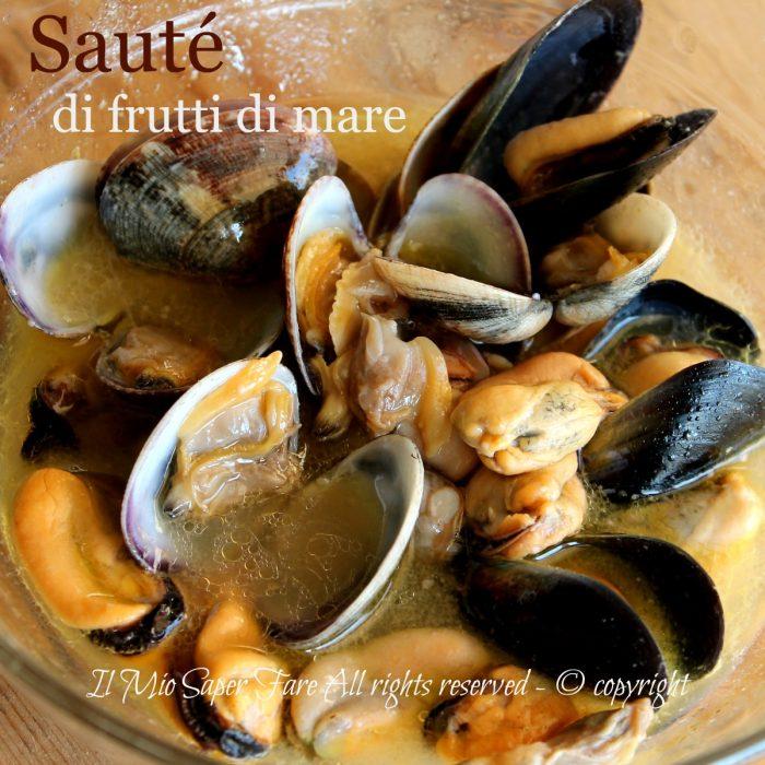 Sauté di frutti di mare ricetta facile e veloce | Zuppa frutti di mare