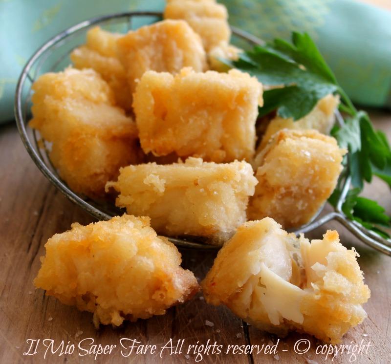 Baccalà fritto senza pastella croccante e dorato