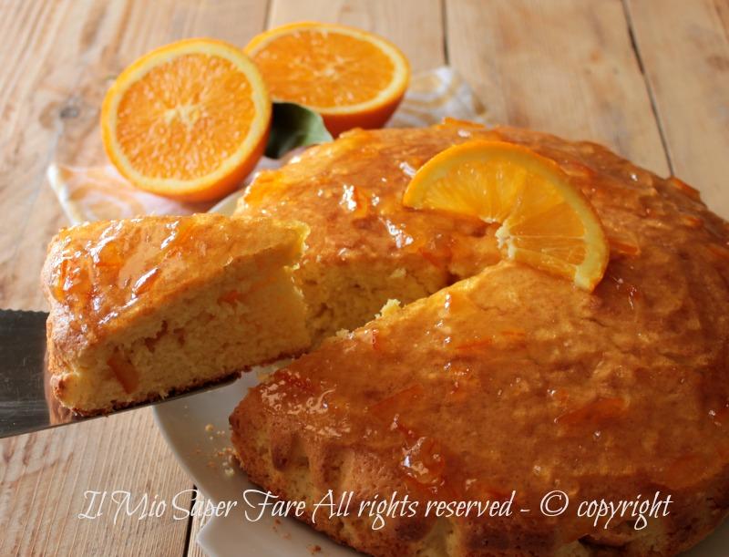 Pan d arancio ricetta originale con arancia frullata con tutta la buccia