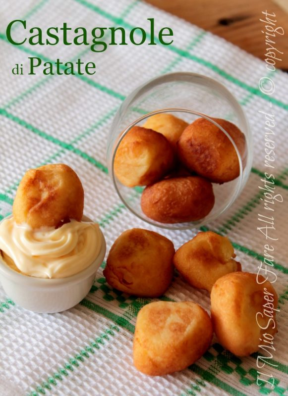 Castagnole salate di patate morbide e gustose ricette Carnevale il mio saper fare