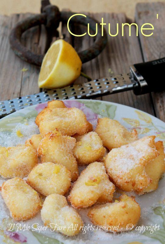 Cutume dolcetti siciliani alla ricotta facili ricetta il mio saper fare