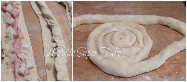 Pizza spirale con diversi ripieni ricetta furba ricetta il mio saper fare