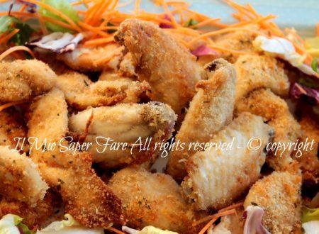 Alette di pollo al forno con panatura aromatica