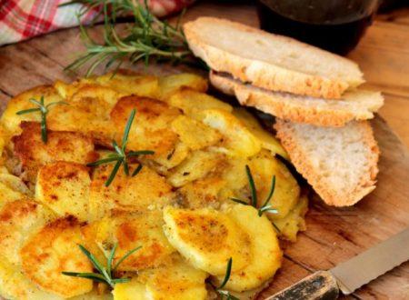 Frittata di patate senza uova ricetta calabrese veloce e facile