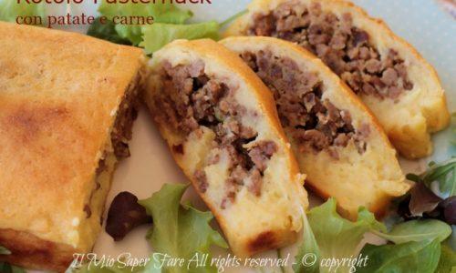 Rotolo patate e carne Pasternack ricetta della tradizione