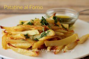 Patatine al forno verdi croccanti e gustose ricetta di famiglia