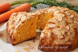 Torta di carote con farina di mandorle ricetta senza burro