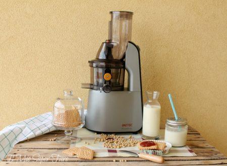 Latte di soia fatto in casa con Estrattore Imetec SuccoVivo