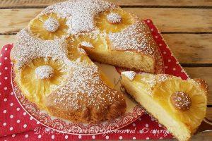 Torta con ananas sofficissima ricetta facile e veloce