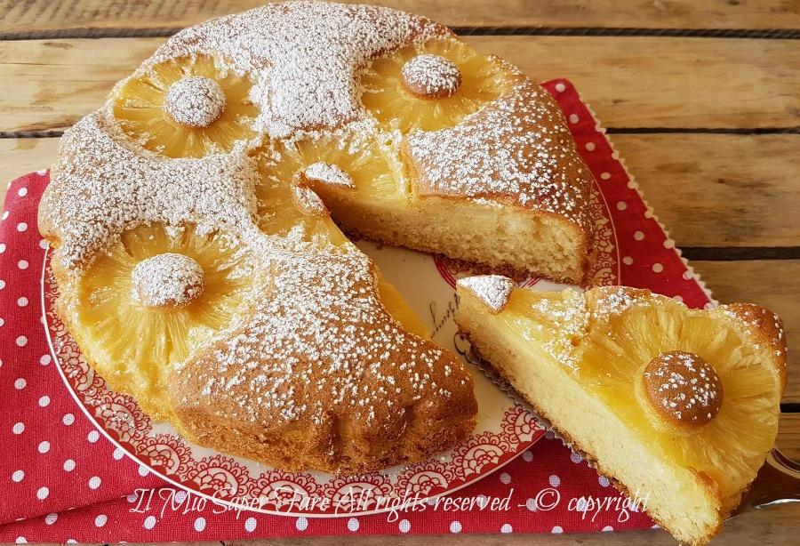 Torta con ananas sofficissima ricetta facile e veloce il mio saper fare