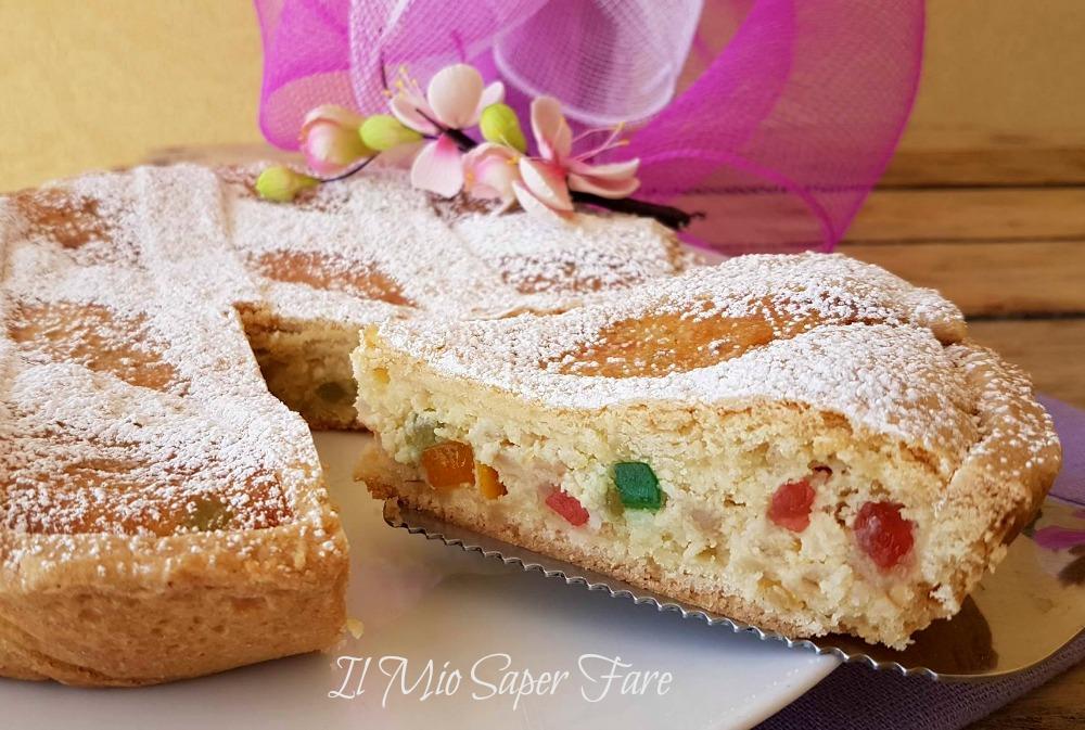 Pastiera napoletana ricetta facile | Dolce di Pasqua con frolla grano e ricotta il mio saper fare