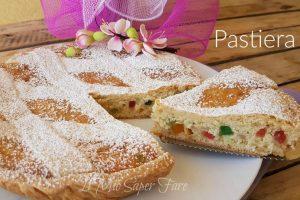 Pastiera napoletana ricetta facile | Dolce di Pasqua con frolla grano e ricotta