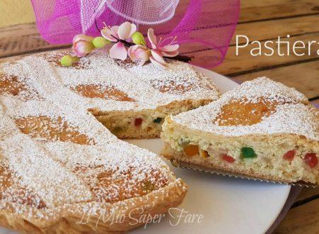 Pastiera napoletana ricetta facile   Dolce di Pasqua con frolla grano e ricotta