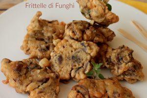 Frittelle di funghi ricetta facile funghi pastellati fritti