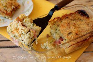 Sformato di riso e zucchine primo piatto leggero e facile