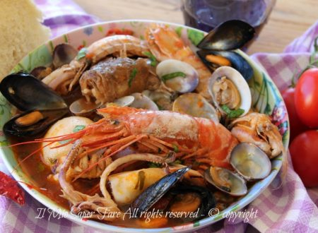 Zuppa di pesce con frutti di mare ricetta facile   Brodetto di pesce saporito