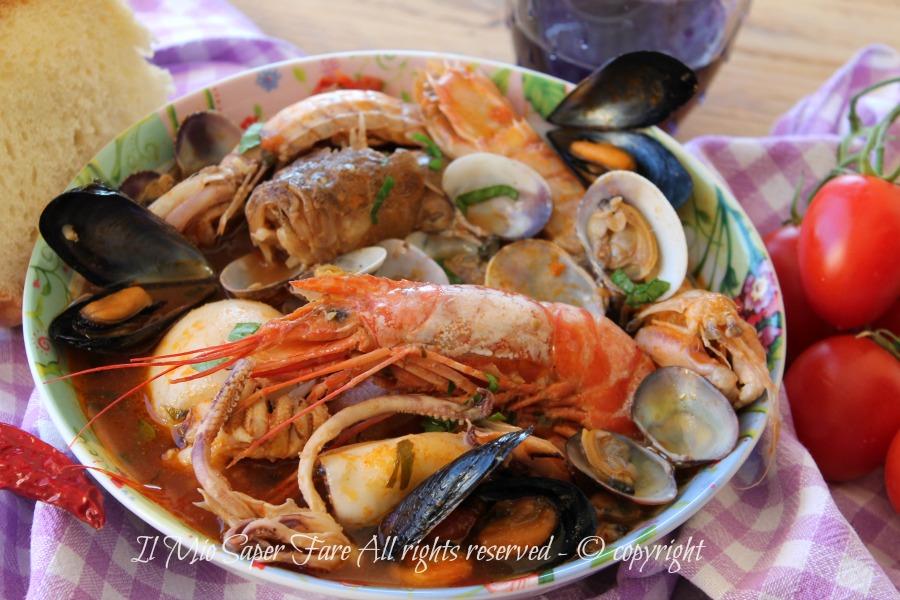 Zuppa Di Pesce Con Frutti Di Mare Ricetta Facile Brodetto Di Pesce