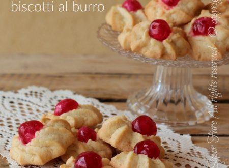 Rosine biscotti al burro facili veloci e di sicura riuscita