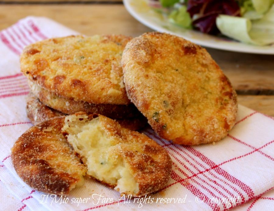 Pancake di patate salati croccanti e filanti ricetta facile il mio saper fare