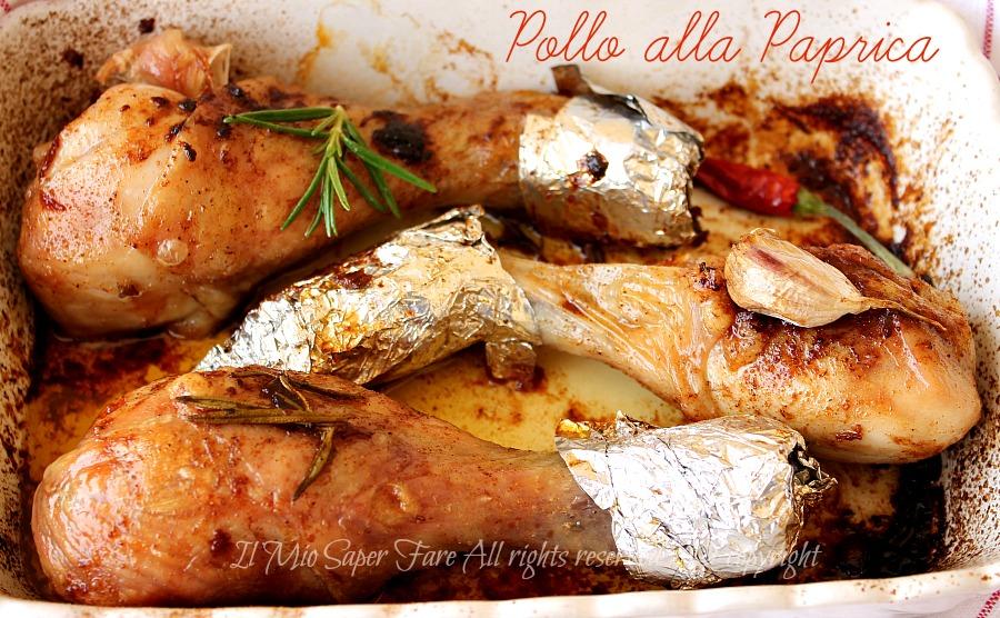 Pollo alla paprica al forno ricetta facile il mio saper fare
