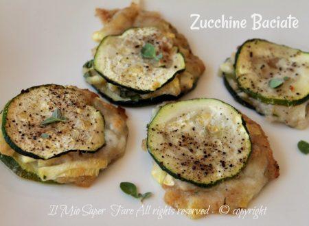 Zucchine baciate ricetta vegetariana facile e sfiziosa