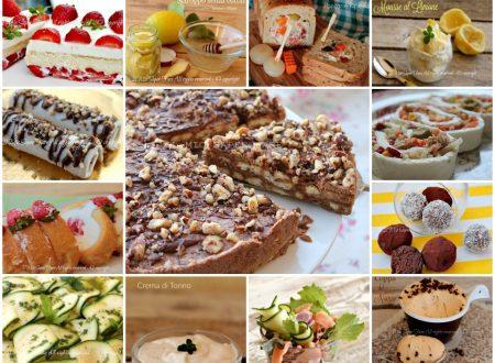 Ricette senza cottura dolci e salate che vanno solo assemblate