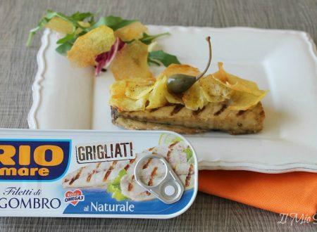 Filetti di sgombro al naturale in crosta di patate