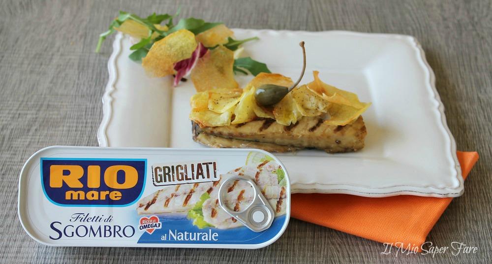 Filetti di sgombro al naturale in crosta di patate ricetta il mio saper fare