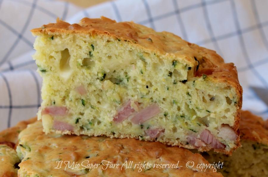 Torta salata di zucchine ricetta il mio saper fare