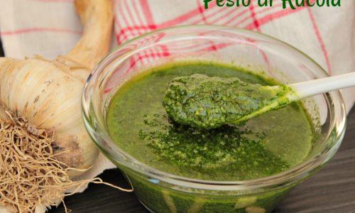 Pesto di rucola ricetta facile e veloce