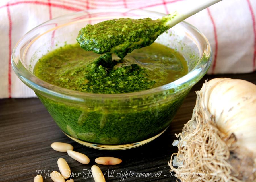 Pesto di rucola ricetta facile e veloce il mio saper fare