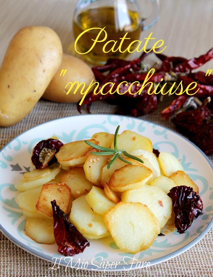 Patate mpacchiuse alla calabrese ricetta patate appiccicate il mio saper fare