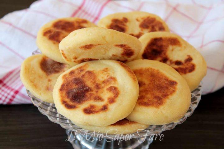Focaccine di patate in padella ricetta senza lievito il mio saper fare