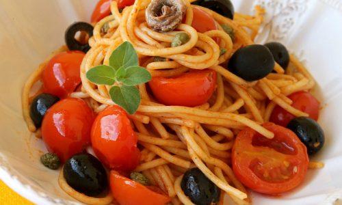 Spaghetti alla Sangiuannin ricetta pugliese   Spaghettata di mezzanotte
