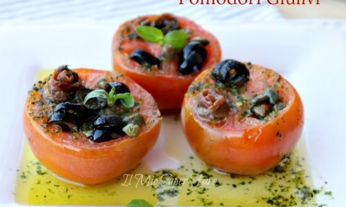Pomodori giulivi ricetta pomodori ripieni senza cottura