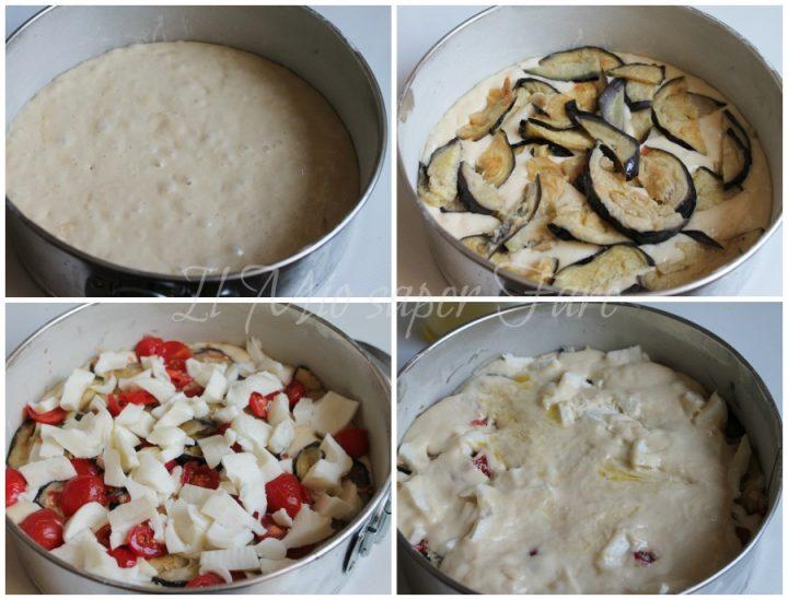 Torta salata alla parmigiana di melanzane con impasto molle il mio saper fare