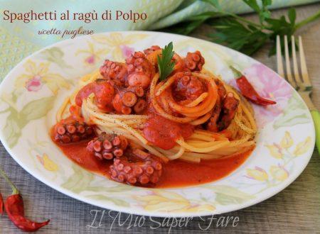 Ragù di polpo ricetta pugliese | Spaghetti al ragù di polpo