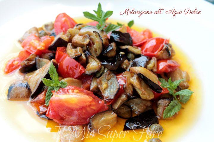 melanzane allagro dolce ricetta il mio saper fare