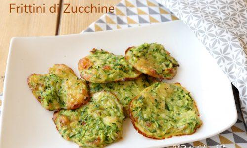 Frittini di zucchine al formaggio fritti o al forno
