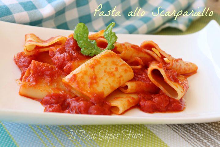 Pasta allo scarpariello pasta semplice ricetta napoletana il mio saper fare