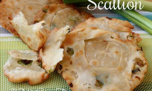 Scallion pancakes ricetta piadine cinesi ai cipollotti