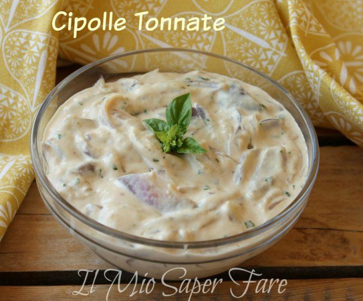 Cipolle tonnate ricetta facile per buffet il mio saper fare