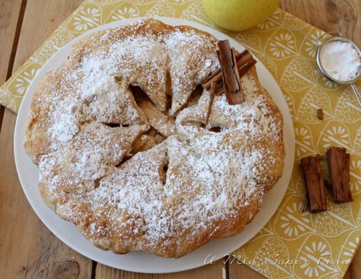 Apple pie ricetta torta di mele americana originale il mio saper fare
