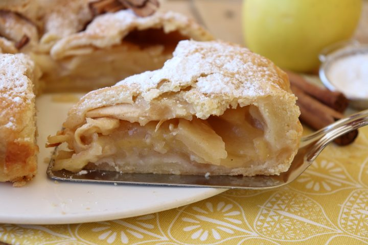 Ricetta Torta Di Mele Americana.Apple Pie Ricetta Torta Di Mele Americana Perfetta Il Mio Saper Fare