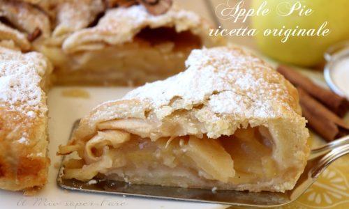 Apple pie ricetta torta di mele americana originale